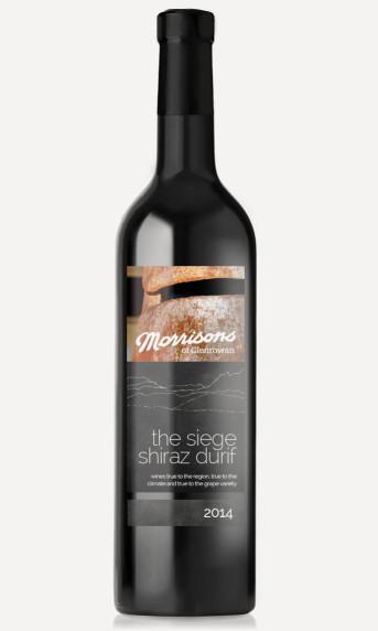 Morrisons 2014 The Seige Shiraz Durif