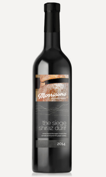 Morrisons 2014 The Seige Shiraz Durif