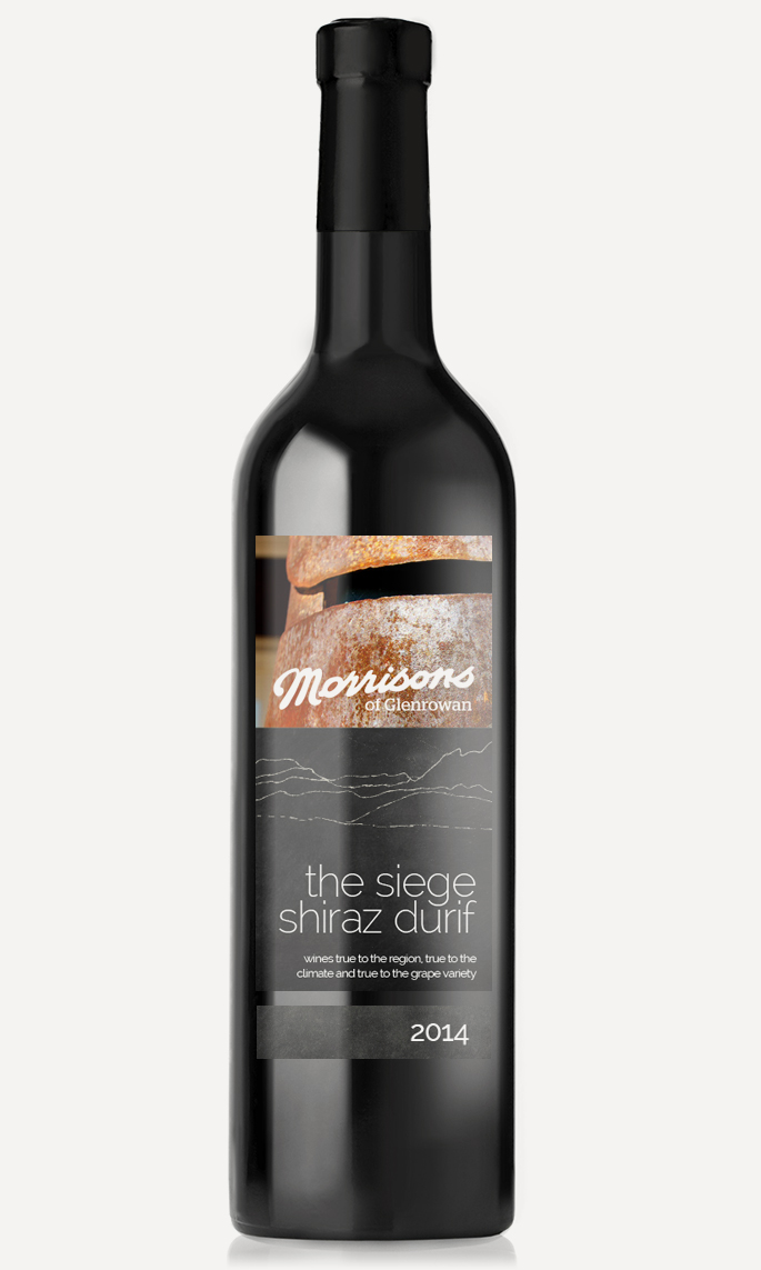 The Siege Shiraz Durif 2014