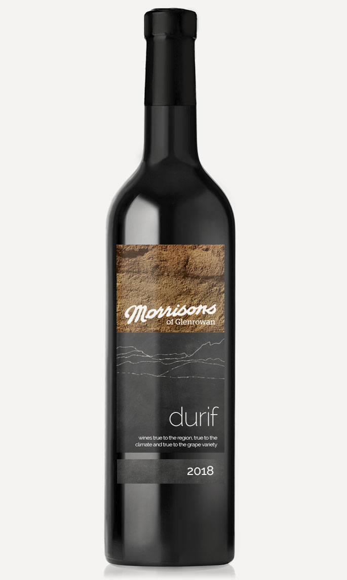Morrisons of Glenrowan 2018 Durif