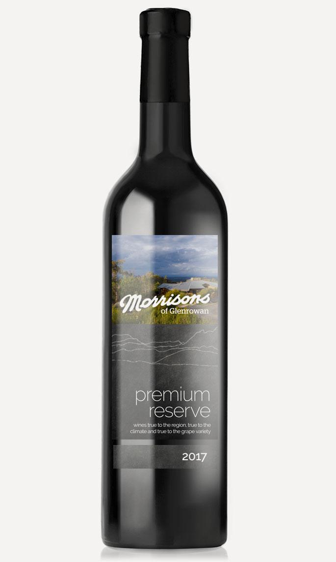 Morrisons of Glenrowan 2017 Premium Reserve Shiraz